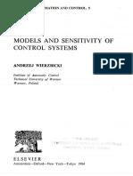 Models and Sensitivity of Control Systems - Andrzej Wierzbicki