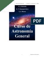 Curso de Astronomia General - Bakulin Kononovich y Moroz