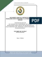 DOCUMENTO BASE DE CONTRATACION  MODALIDAD APOYO NACIONAL A LA PRODUCCION Y EMPLEO