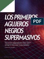 Los Primeros Agujeros Negros Supermasivos