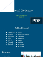 personal dictionary part 2-2