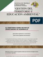 Gestión Del Territorio y Educación Ambiental Capítulo 08