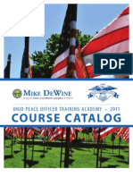2011 OPOTA Course Catalog