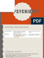 UW Psychiatry Corrections