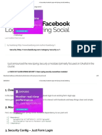 A Secondary Facebook Login With Spring Social _ Baeldung