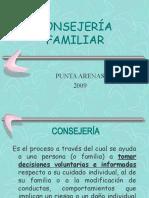 CONSEJER�A FAMILIAR 2009