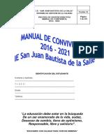 Manual de Convivencia 2016-2021