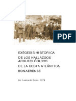Daino, Leonardo - Exegesis Historica de los Hallazgos Arqueologicos de la Costa Atlantica Bonaerense.pdf