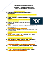 Cuestionario Examen Entorno Microeconomico 2