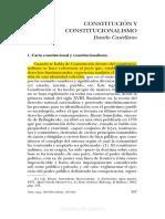 Danilo Castellano. Constitución Y Constitucionalismo