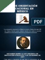 Ley de Orientación Vocacional en México Expo Moy