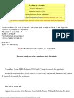 U.S. Bank N.a. v Joseph (2018 NY Slip Op 02155)- 2d Dept SOL_Bankruptcy_CPLR 204(a)_toll_stay_TRO_OSC