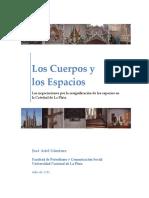 Los Cuerpos y Los Espacios. Las negociaciones por la resignificación del espacio en la Catedral de La Plata.
