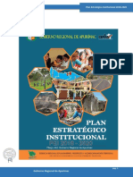 Plan Estrategico Institucional 2018 2020