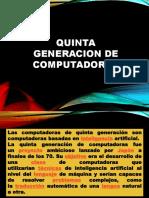 Quinta Generacion