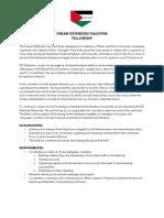 DD Palestine Fellowship