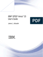 IBM SPSS Amos User Guide 23