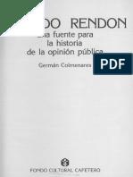 Colmenares Ricardo Rendon