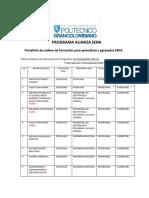 Alianza Sena Virtual Portafolio