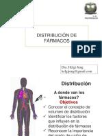 3. Distribución de Fármacos