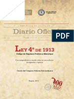Regimen Municipal LEY de 1913