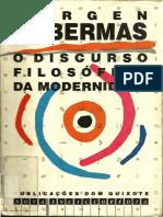Jurgen Habermas - O Discurso Filosófico da Modernidade.pdf