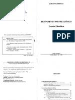 Pensamento Pós-Metafísico - Estudos Filosóficos - Habermas Juergen.pdf