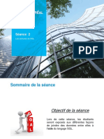 Séance 2 Diapos  SQL