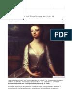A Trágica História Da Lady Diana Spencer Do Século 18