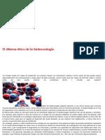 El Dilema Ético de La Biotecnología