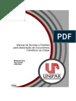 Manual de Normas Técnicas Da Unipar 2016