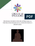 Programa de Reducción Del Estrés Basado en La Atención Plena o Mindfulness