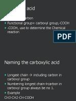 6. Carboxylic Acids
