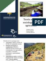 Teoria Social y Sociologia de La Agricultura