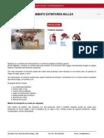 Kit Basico Entrenamiento Extintores Bullex