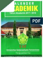 Kalender Akademik Tahun Akademik 2017 2018