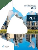Alpek Informe Anual 2016