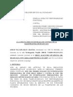 Queja Odecma Vilcahuaman (1)