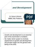 2- Growth and Development (I)