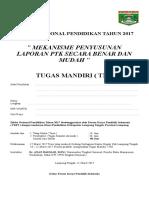 Tugas Mandiri Lampung Tengah 17 Maret 2017