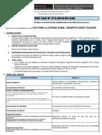 Convocatoria CAS N° 013- Bases de Perfil (1)