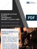 Superior Gloves Range 2018