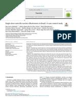 Artigo sobre vacina contra varicela zoster no Brasil