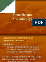 Pemeriksaan mikrobiologi-1