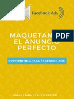 Facebook Ads - Maquetando El Anuncio Perfecto