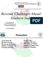 South Sudan Taxation System