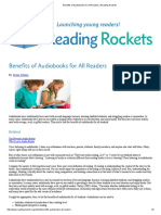 Benefits of Audiobooks for All Readers _ Reading Rockets
