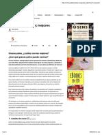 Grasas Paleo, Las 5 Mejores - PaleoSystem
