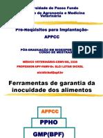 Pré-Requisitos Para Implantação- APPCC