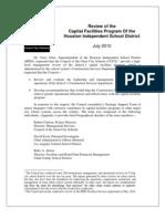 Houston Capital Program Report--Final (Edited)